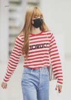 7-BLACKPINK Lisa Airport Photo Incheon Seoul From New York