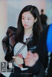 76-BLACKPINK Jennie Airport Photos Incheon to Paris Fashion Week