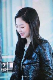 77-BLACKPINK Jennie Airport Photos Incheon to Paris Fashion Week