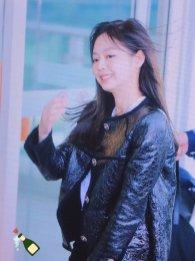 87-BLACKPINK Jennie Airport Photos Incheon to Paris Fashion Week