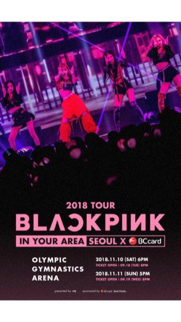 BLACKPINK Jisoo Instagram Story 18 September 2018 Seoul Concert