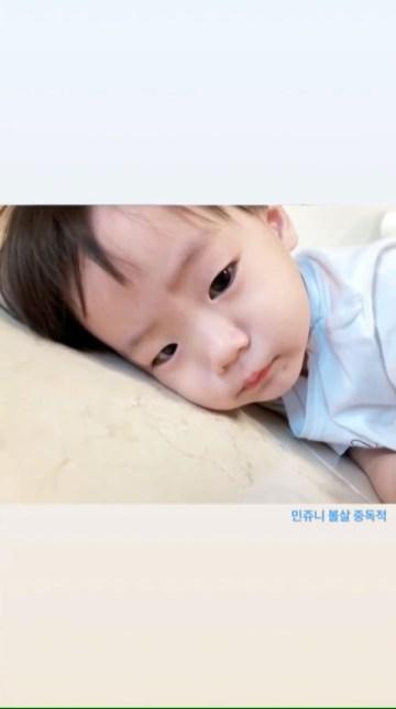 """ Addicted to Min Joon's cheeks """
