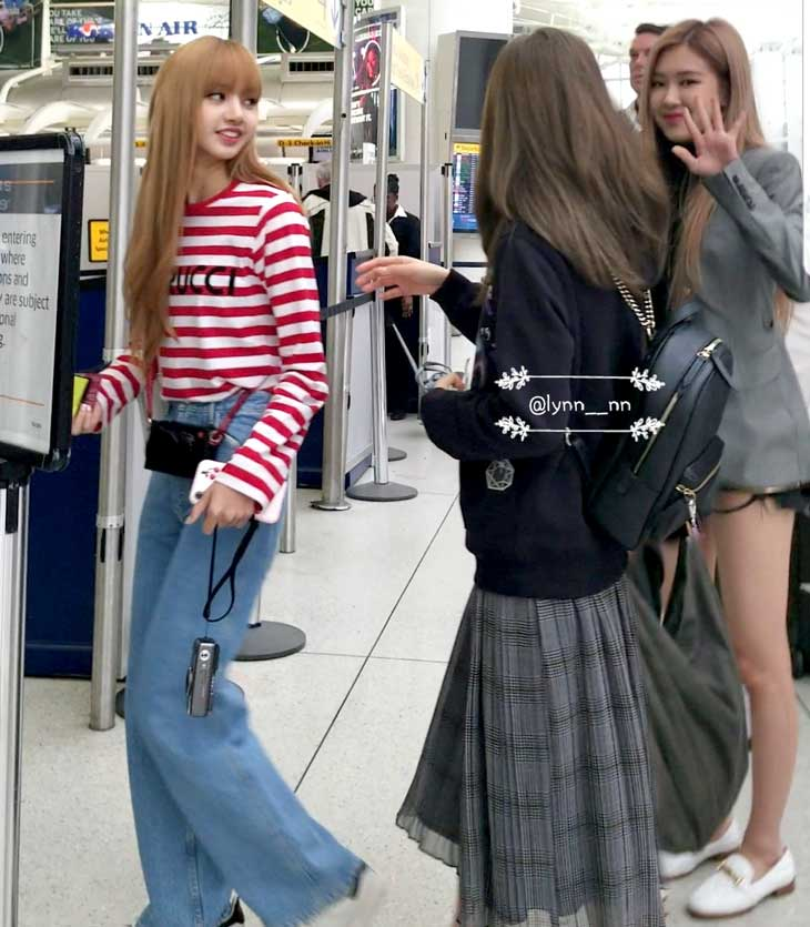 Blackpink Jisoo Rose Lisa Photos At Jfk Airport Nyc Back To Seoul