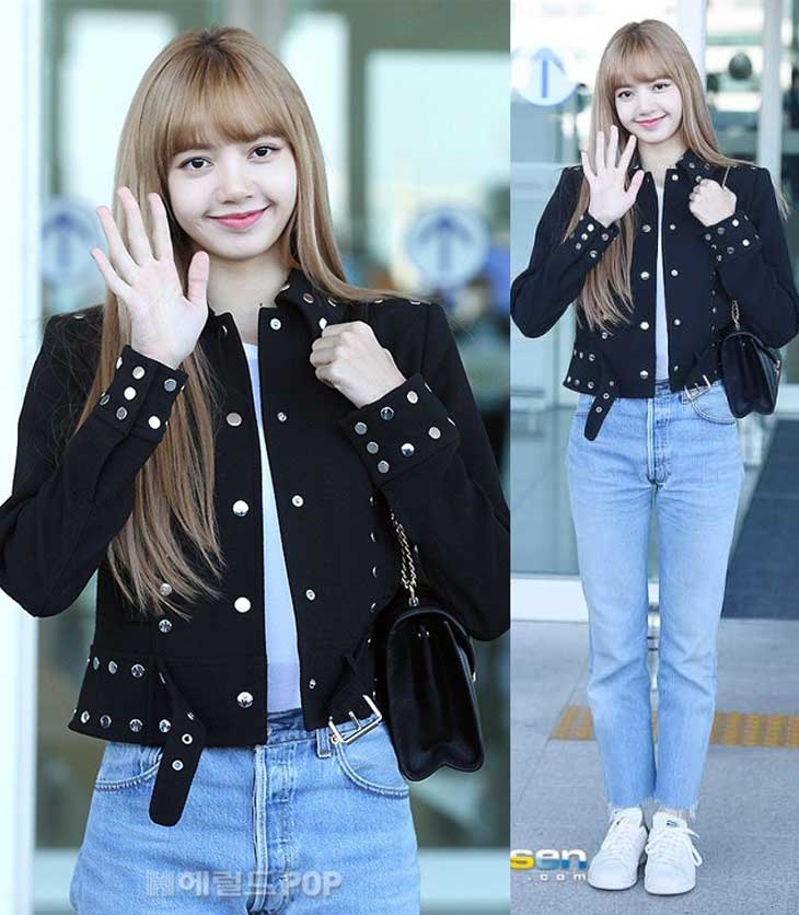 Blackpink Lisa Airport Photos At Incheon Off To New York September 8