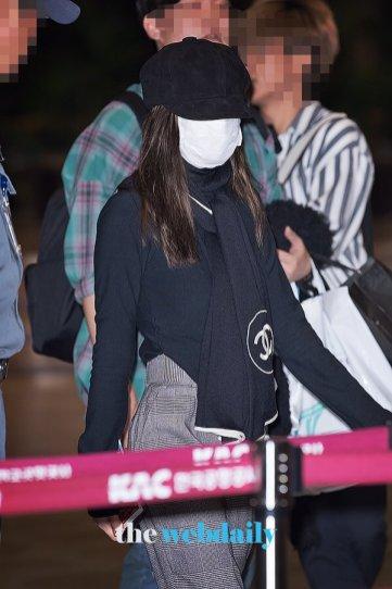 1-BLACKPINK Airport Photos 9 October 2018 to Japan