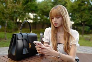 BLACKPINK Lisa CELINE Bag