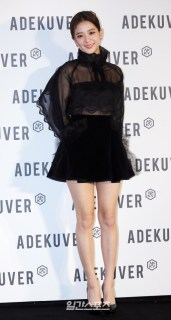 106-BLACKPINK Jisoo ADEKUVER Launch Event 11 October 2018