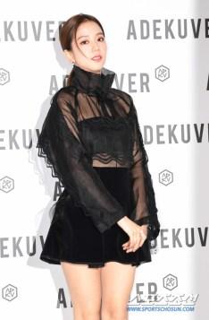 108-BLACKPINK Jisoo ADEKUVER Launch Event 11 October 2018