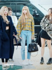 18-BLACKPINK Rose Airport Photos Incheon 5 October 2018
