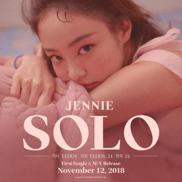 2-BLACKPINK Jennie New Solo song teddy park