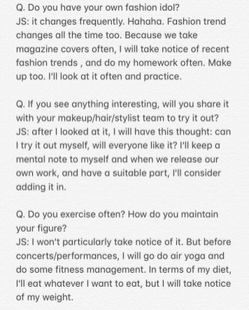 2-English Translation BLACKPINK Jisoo Interview GRAZIA China