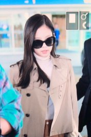 21-BLACKPINK Jennie Airport Photo 4 October 2018 from Paris