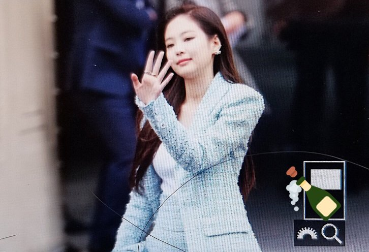 22-BLACKPINK Jennie Chanel Paris Fashion Week Fansite Photos