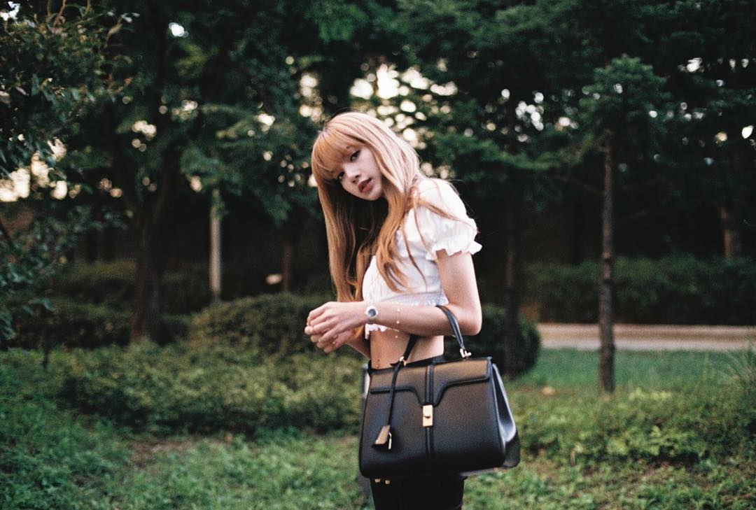 BLACKPINK Lisa CELINE Bag