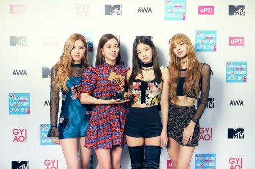 3-BLACKPINK MTV Video Music Awards Japan 2018