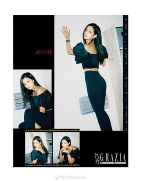 BLACKPINK Jennie GRAZIA China Magazine