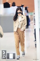 58-BLACKPINK Jennie Airport Photo 4 October 2018 from Paris