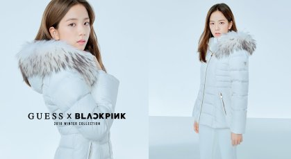BLACKPINK GUESS Winter Collection Coat Jacket