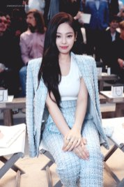 8-BLACKPINK Jennie Chanel Paris Fashion Week Fansite Photos