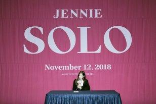 1-BLACKPINK Jennie SOLO Press Conference