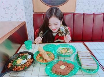 1-BLACKPINK Jisoo Instagram Photo 29 Nov 2018 Dosan Bunsik