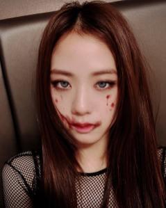 1-BLACKPINK Jisoo Instagram Photo 31 October 2018 Halloween