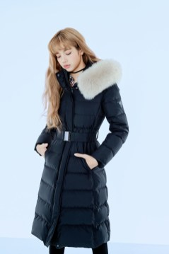 1-HQ-BLACKPINK GUESS Winter Coat Jacket Collection