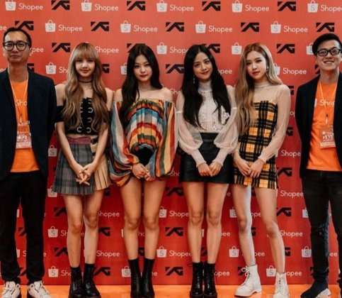 12-BLACKPINK Shopee Indonesia Press Photos