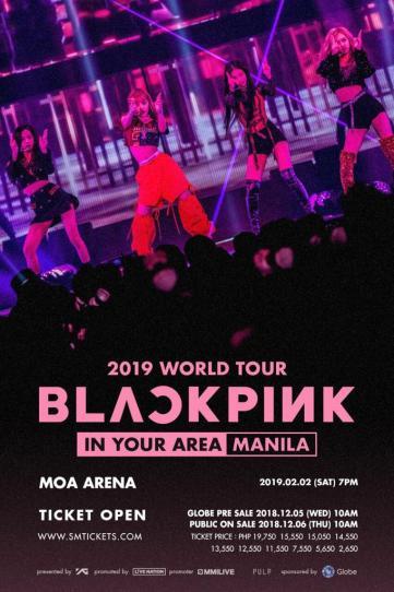 2-BLACKPINK concert manila Philippines