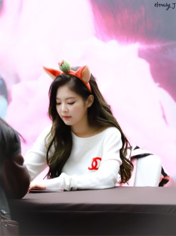 32-BLACKPINK Jennie SOLO Fansign Event 17 November 2018 Coex