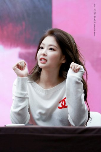 34-BLACKPINK Jennie SOLO Fansign Event 17 November 2018 Coex