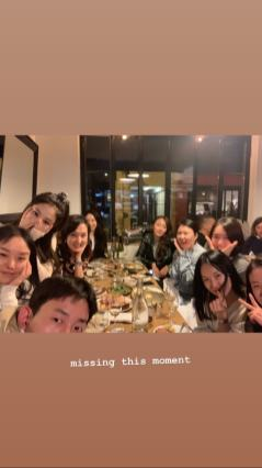 4-BLACKPINK Jennie Insta Story 20 Nov 2018