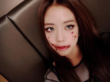 5-BLACKPINK Jisoo Instagram Photo 31 October 2018 Halloween