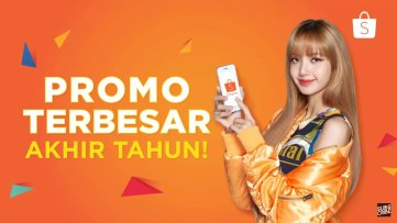 5-BLACKPINK Lisa Shopee Indonesia Commercial