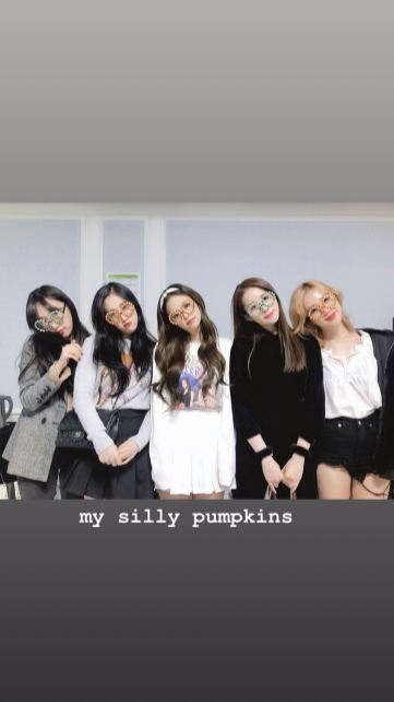 7-BLACKPINK Jennie Instagram Story 12 November 2018 SOLO