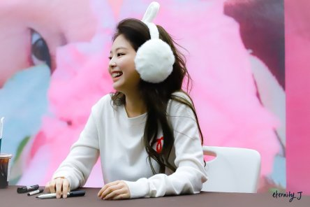 91-BLACKPINK Jennie SOLO Fansign Event 17 November 2018 Coex