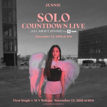 BLACKPINK JENNIE SOLO COUNTDOWN LIVE