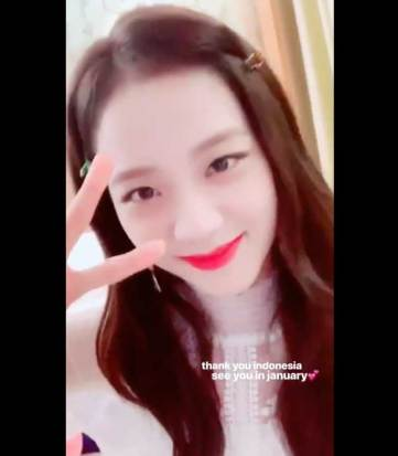 BLACKPINK-Jisoo-Instagram-Story-19-November-2018-Indonesia