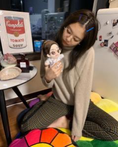 10-BLACKPINK Jennie Instagram Photo 27 December 2018