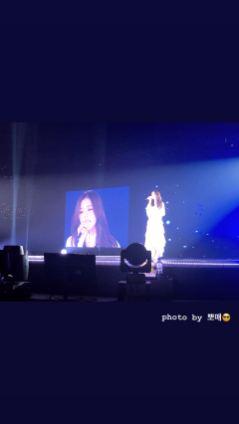 BLACKPINK Jisoo Instagram Story Kyocera Dome