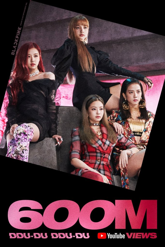 DDU-DU DDU-DU Becomes Fastest K-Pop MV To Reach 600 Million Views