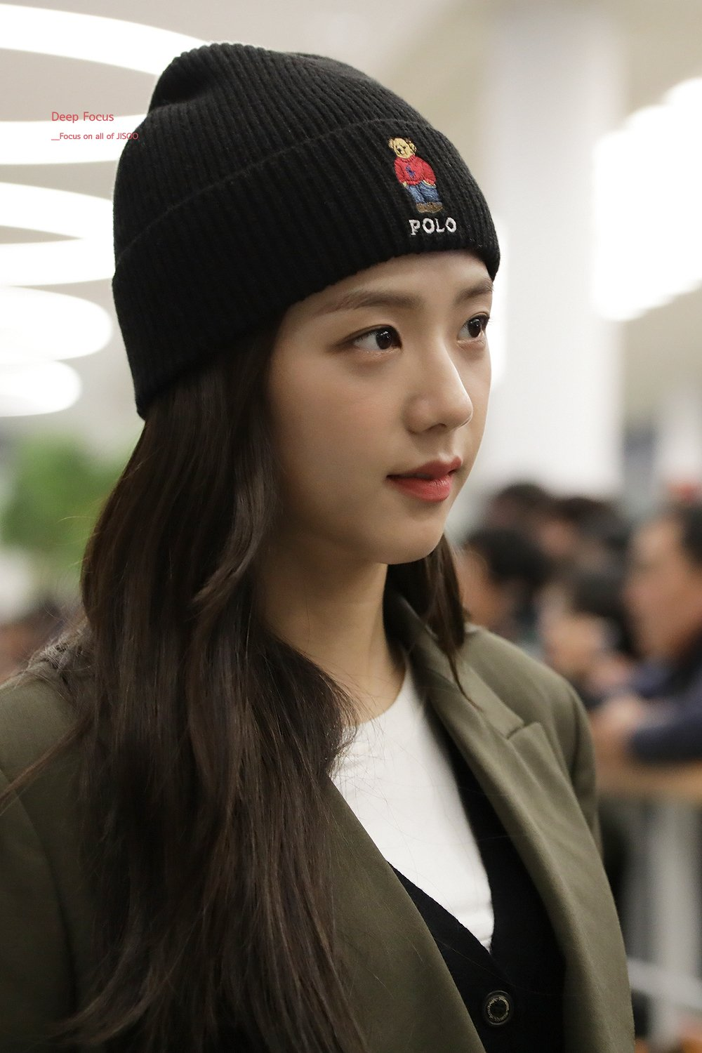 2 BLACKPINK Jisoo Airport Photo Incheon From Philippines Fansite