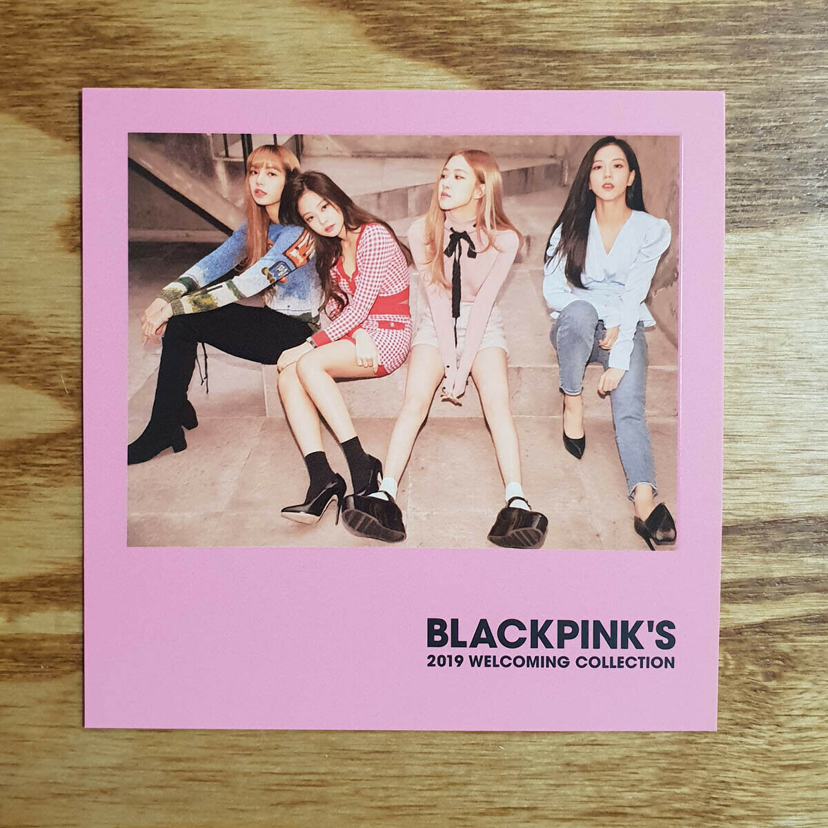 2 Polaroid Photocards BLACKPINK 2019 Welcoming Collection