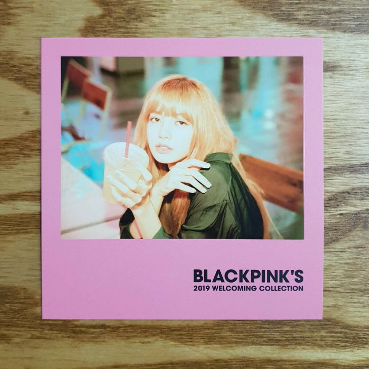 4 Polaroid Photocards BLACKPINK 2019 Welcoming Collection