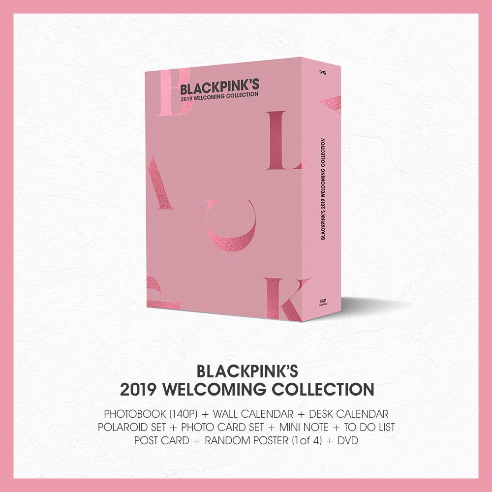 Buy Now! BLACKPINK 2019 Welcoming Collection