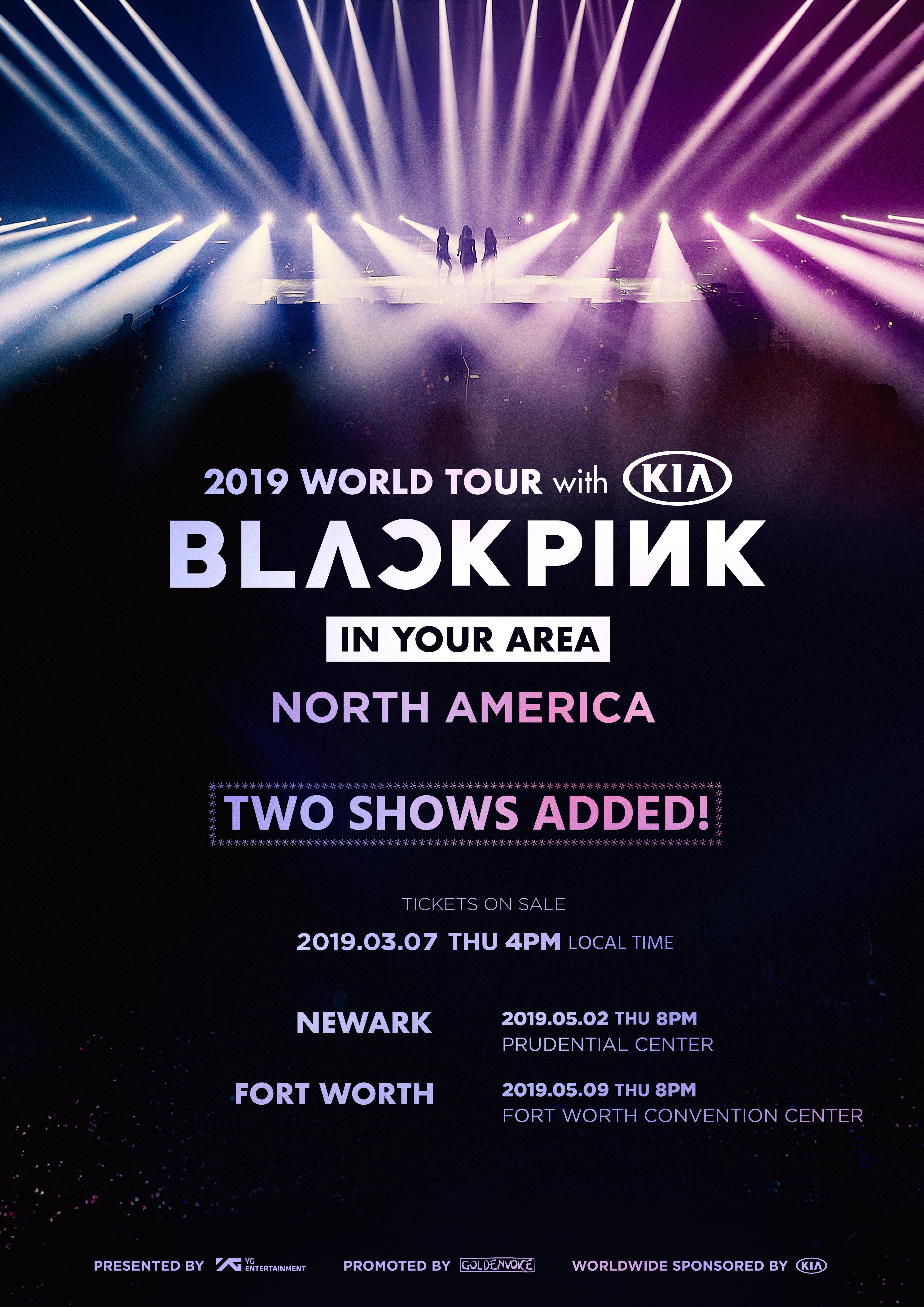 Blackpink Adds Two Shows For 2019 World Tour In North America