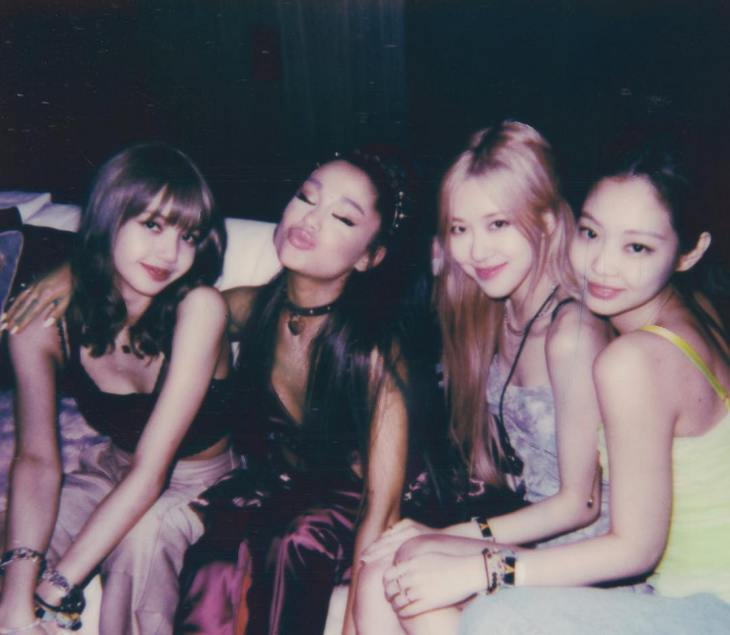 Image result for ariana grande black pink instagram