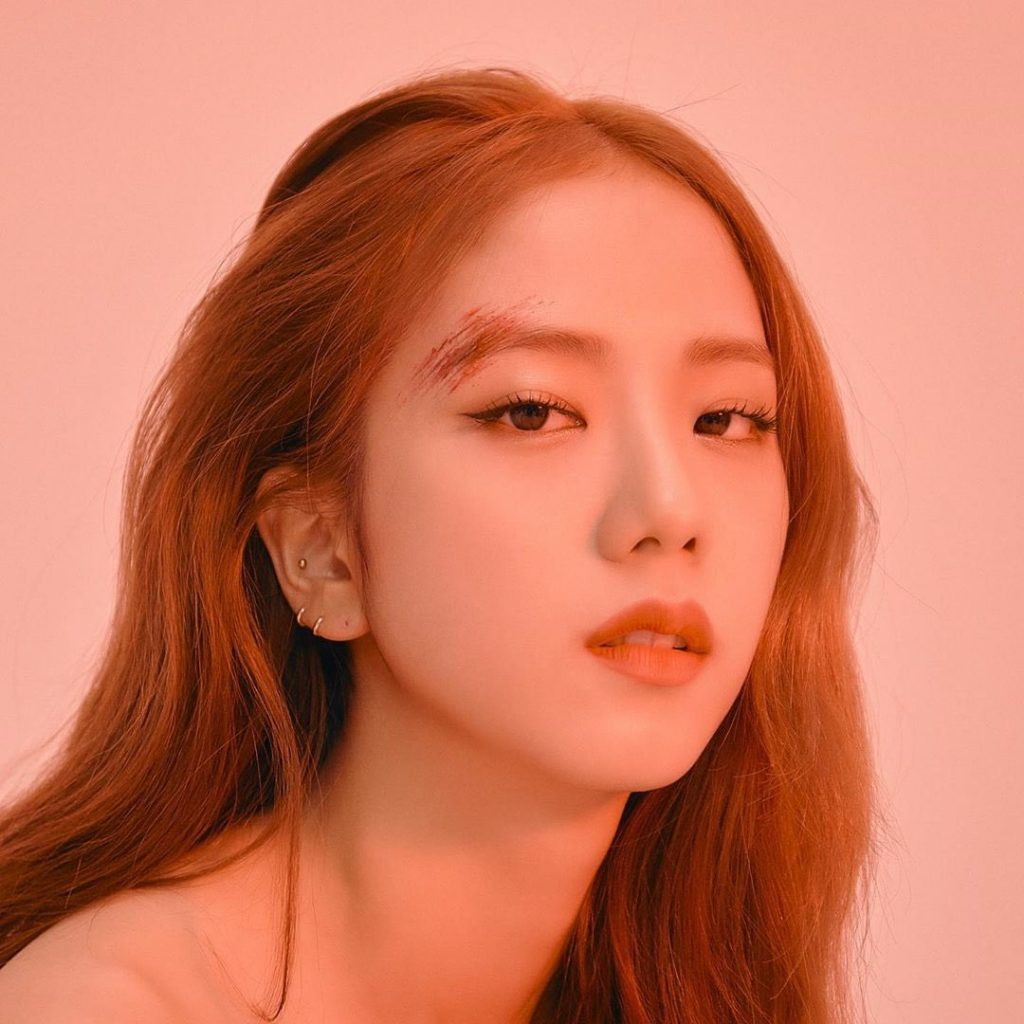 1 HQ BLACKPINK Jisoo Kill This Love Photocard with bruises scar makeup 1