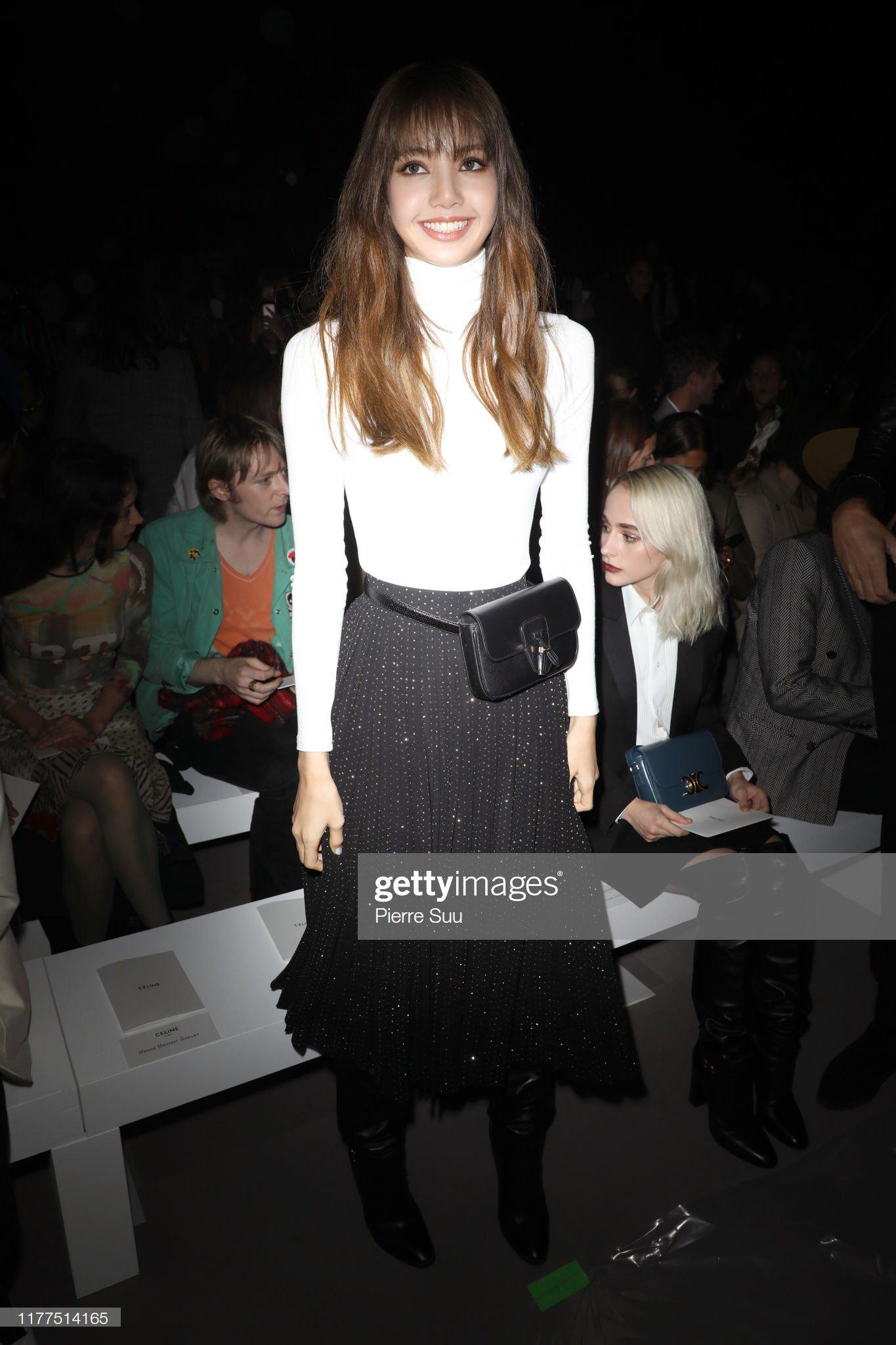 12 Blackpink Lisa Attends Celine Show At Paris Fashion Week September 2019