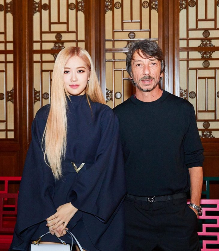 Rosé with Pierpaolo Piccioli, VALENTINO creative director